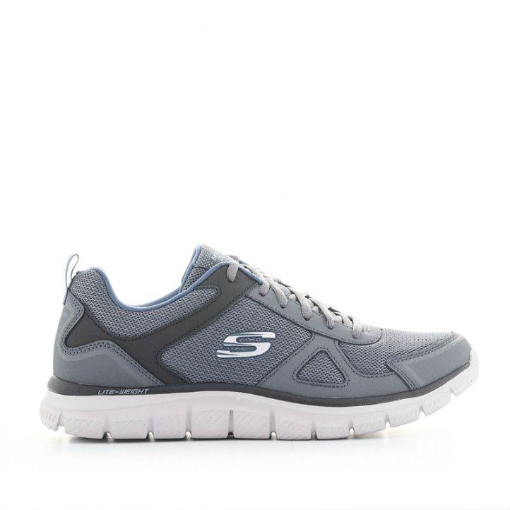 Sabatilles esportives Skechers grises amb cordons i plantilla memory foam - Querol online
