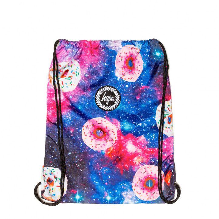 Motxilla HYPE donut galaxy drawstring bag - Querol online
