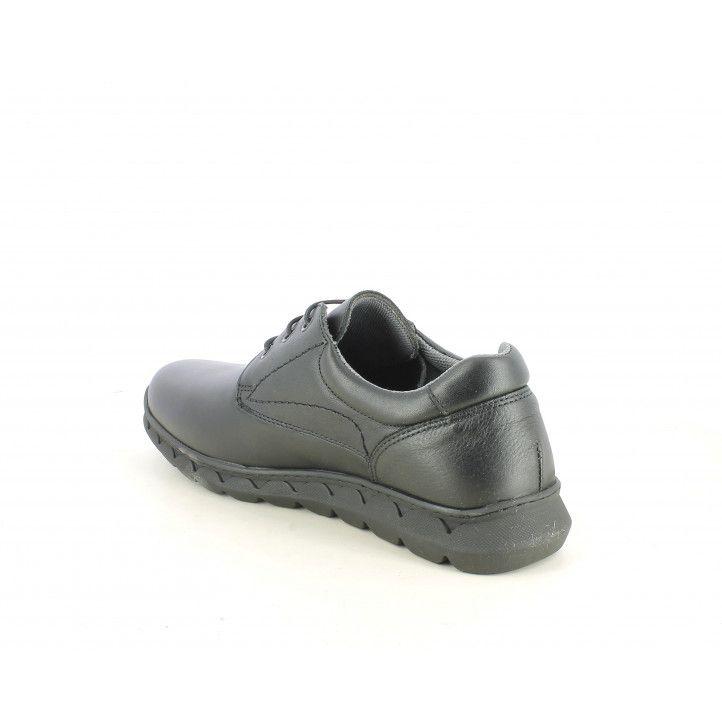 Zapatos vestir ONFOOT negros con cordones plantilla extraible y acolchada - Querol online