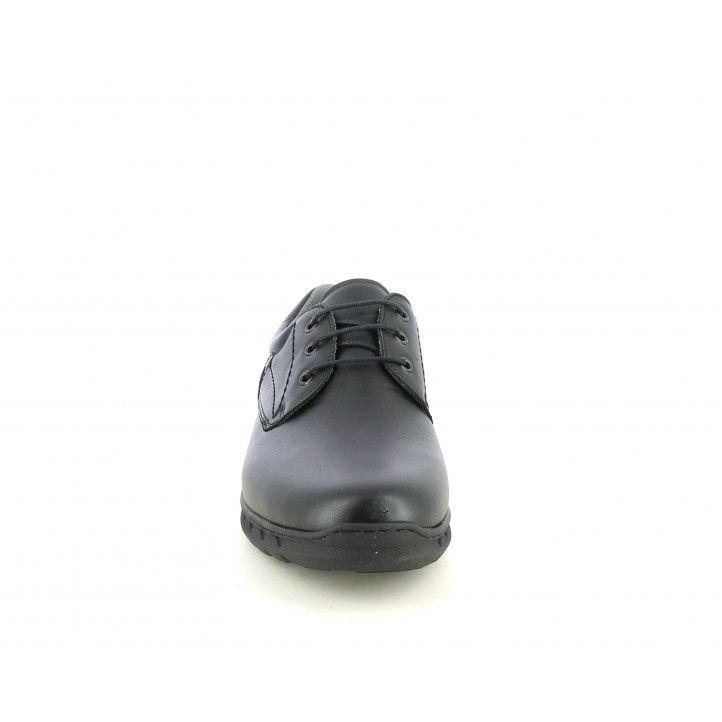 Sabates vestir ONFOOT negres de cordons amb plantilla extraïble i embuatada - Querol online