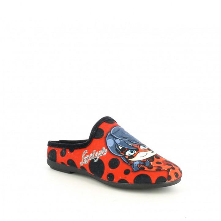 Espardenyes casa Duvic amb dibuixos de ladybug - Querol online