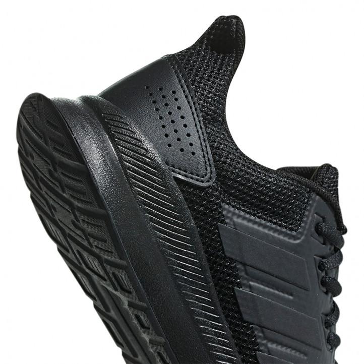 Zapatillas deportivas Adidas negra runfalcon material muy ligero - Querol online