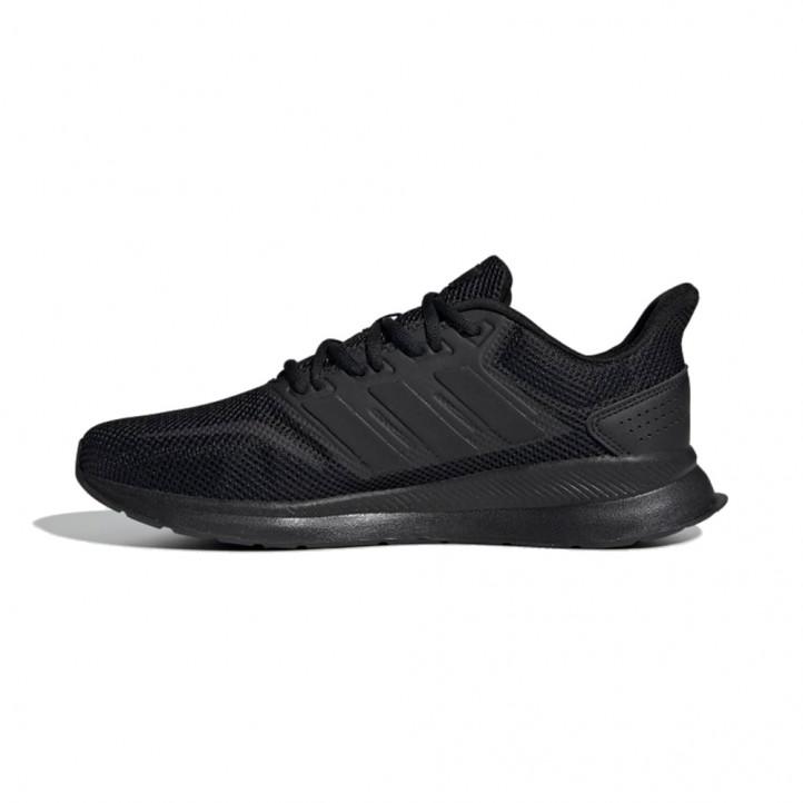 Sabatilles esportives Adidas runfalcosn negres i blanques - Querol online