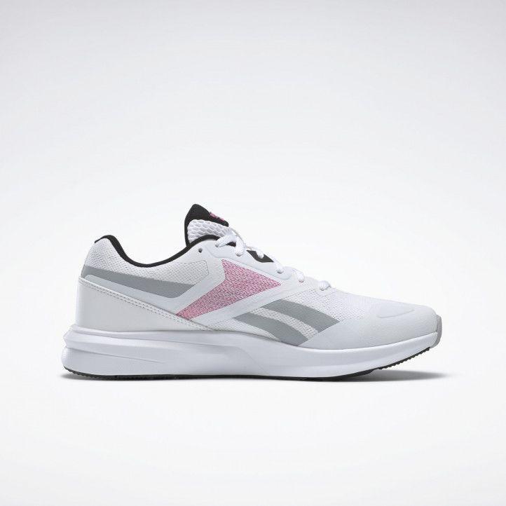 Sabatilles esportives Reebok blanques amb detalls en gris i rosa 4.0 - Querol online
