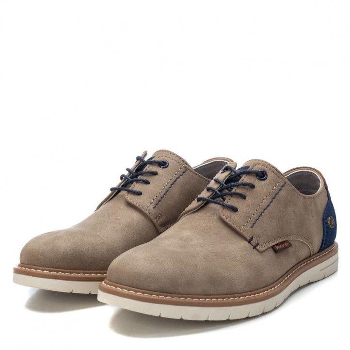 Zapatos vestir Refresh 07294401 taupe - Querol online