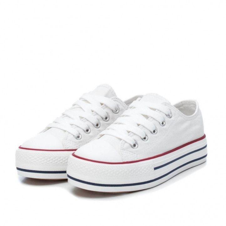 Zapatillas lona Xti con cordones y puntera reforzada - Querol online