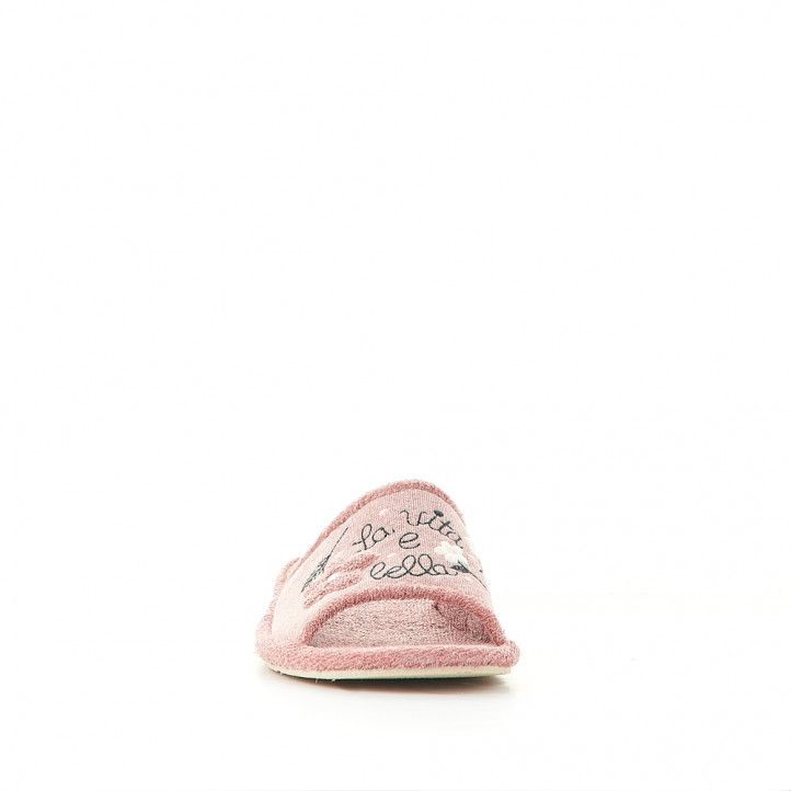 Sabatilles casa Vulladi la vita e bella color rosa - Querol online