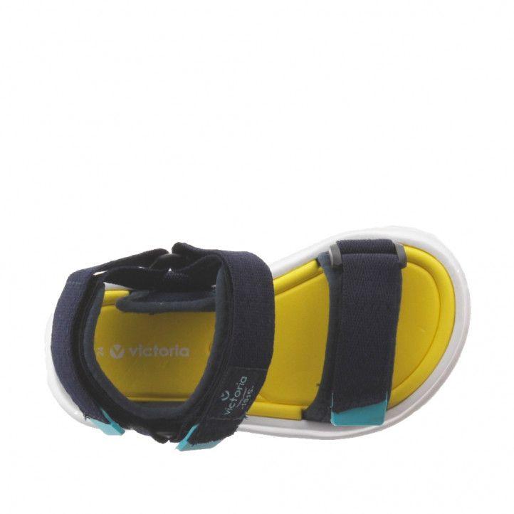 sandàlies Victoria blaves i grogues - Querol online