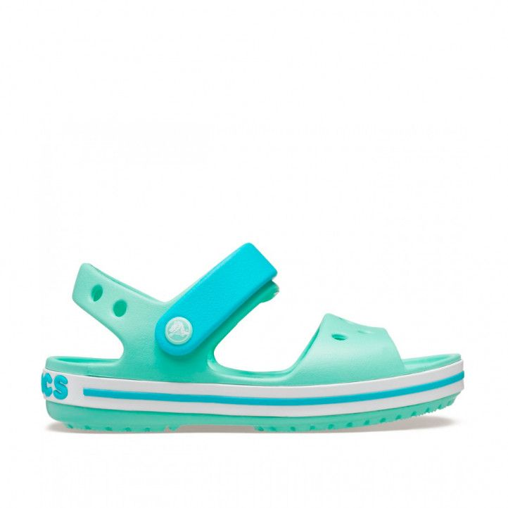 xancletes Crocs crocband sandal k pistachio - Querol online