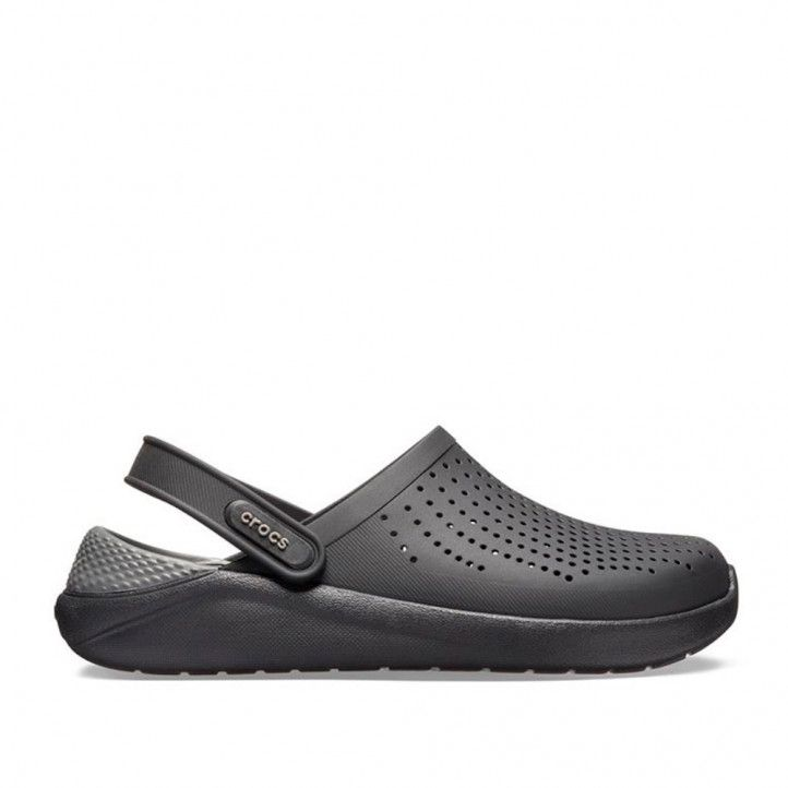 Chanclas Crocs literide clog u black-slate grey - Querol online