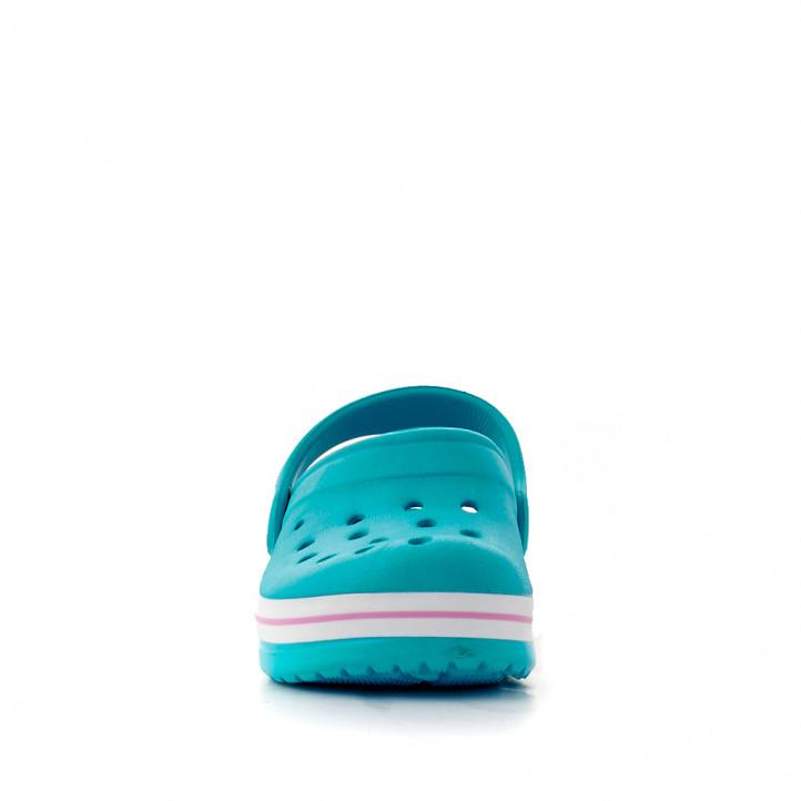 Chanclas QUETS! zuecos azul turquesa - Querol online