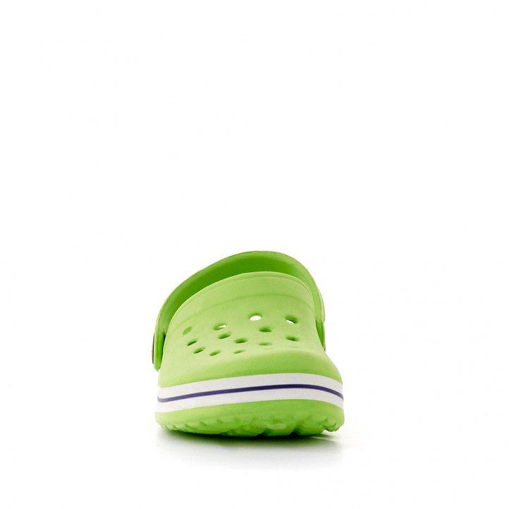 xancletes QUETS! verdes amb línia negra - Querol online