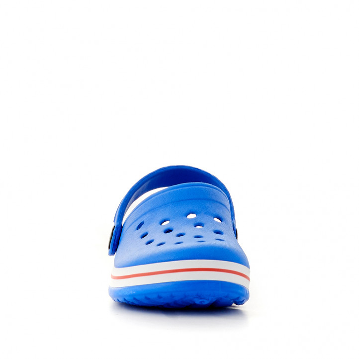xancletes QUETS! blaves amb línia vermella - Querol online