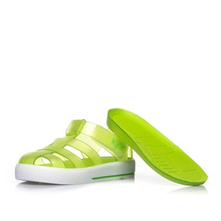 xancletes Igor verdes agafades al turmell - Querol online