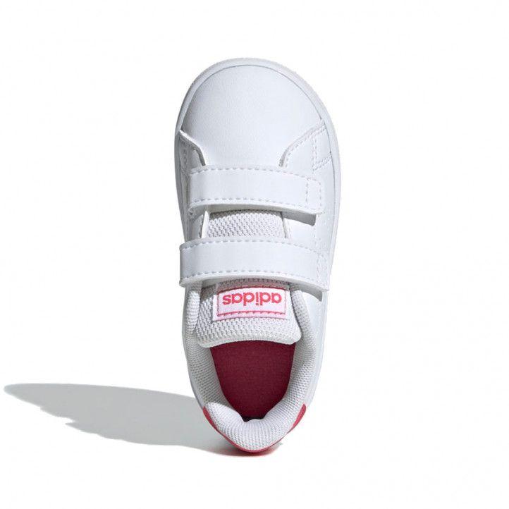 Zapatillas deporte Adidas EF0300 advantage white-pink - Querol online