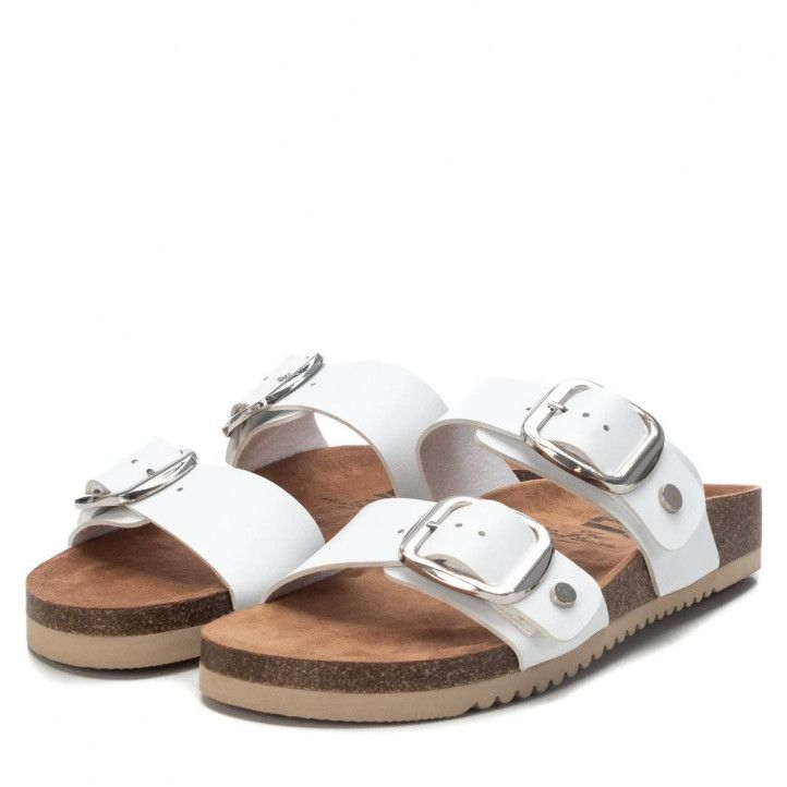 Sandàlies planes Xti 04279205 blanc - Querol online