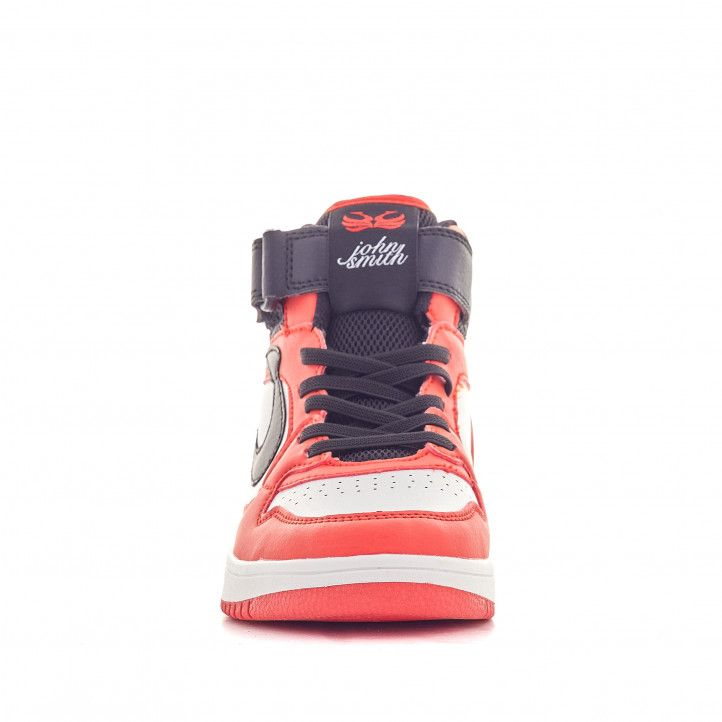 Zapatillas deporte John Smith vawen blancas y rojas - Querol online
