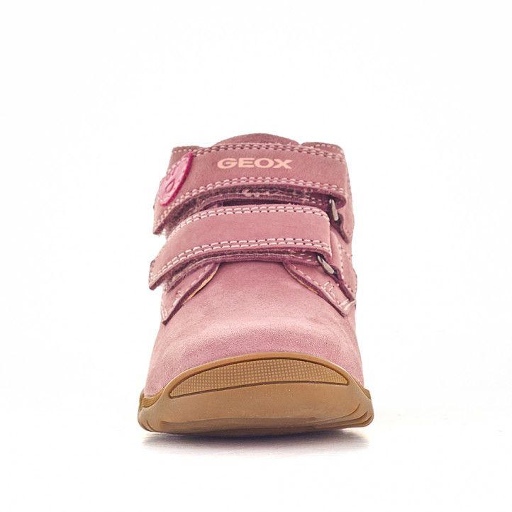 Zapatos abotinados Geox macchia rosa oscuro - Querol online