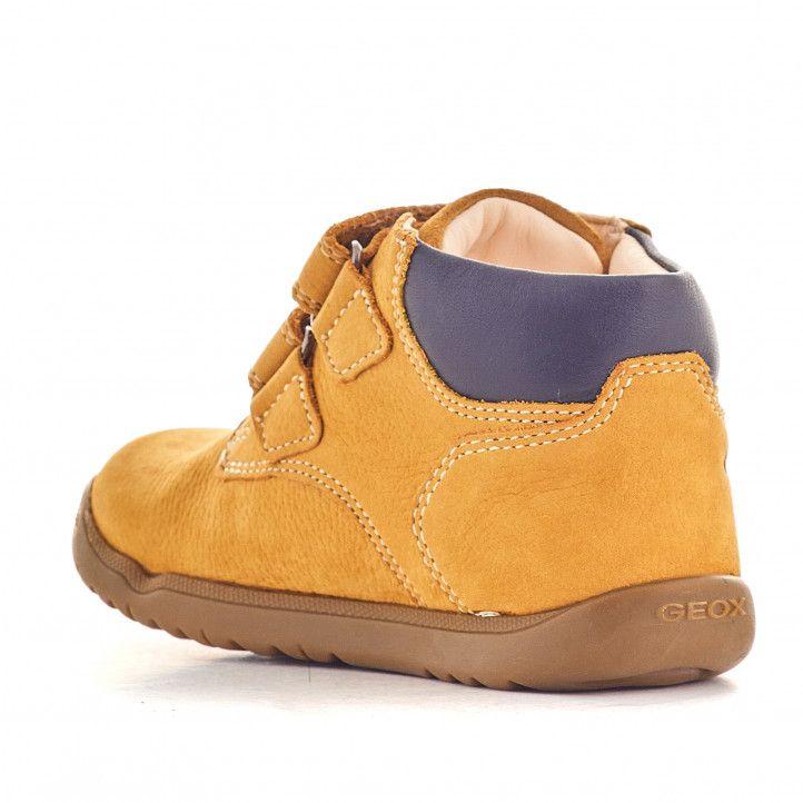 Zapatos abotinados Geox macchia color galleta - Querol online
