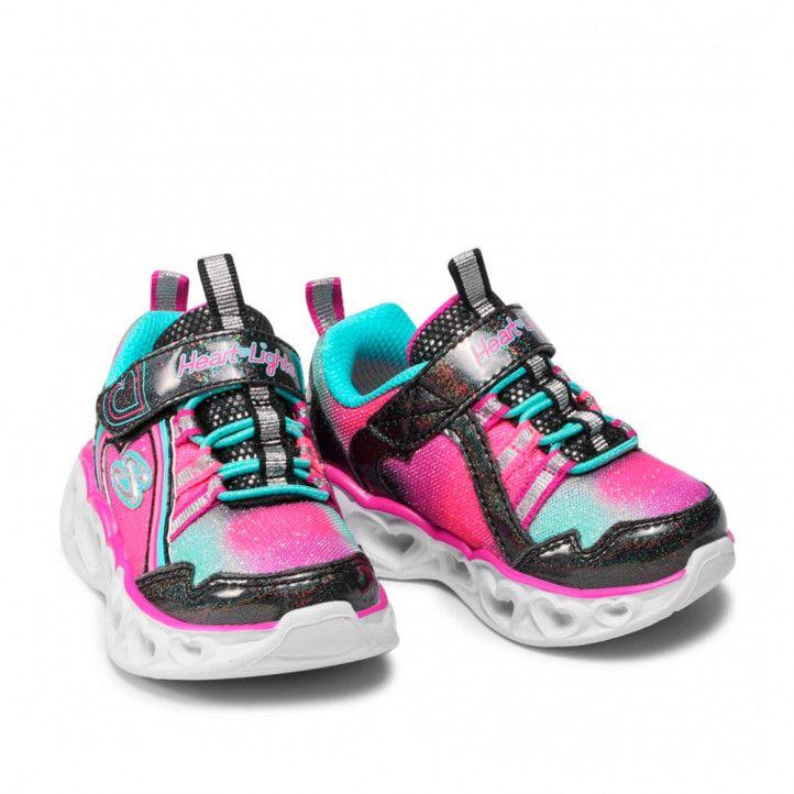 Zapatillas deporte Skechers rainbow lux black/multi - Querol online
