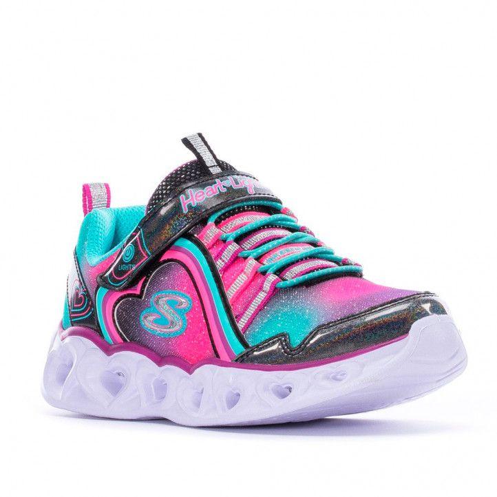 Zapatillas deporte Skechers rainbow lux kids - Querol online