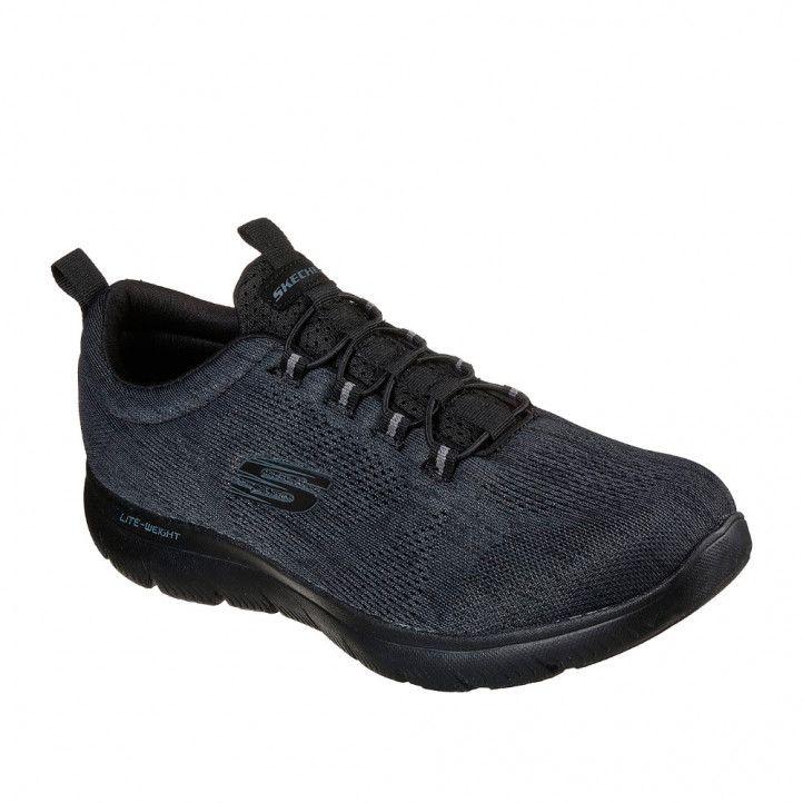 Zapatillas deportivas Skechers summits - louvin black - Querol online