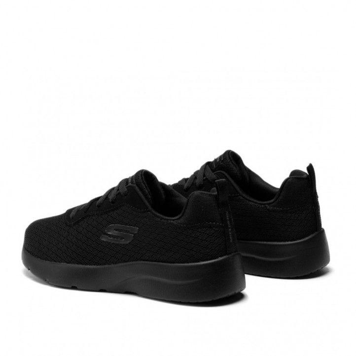 Zapatillas deportivas Skechers eye to eye black - Querol online