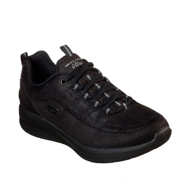 Zapatillas deportivas Skechers synergy 2.0 - comfy up black - Querol online