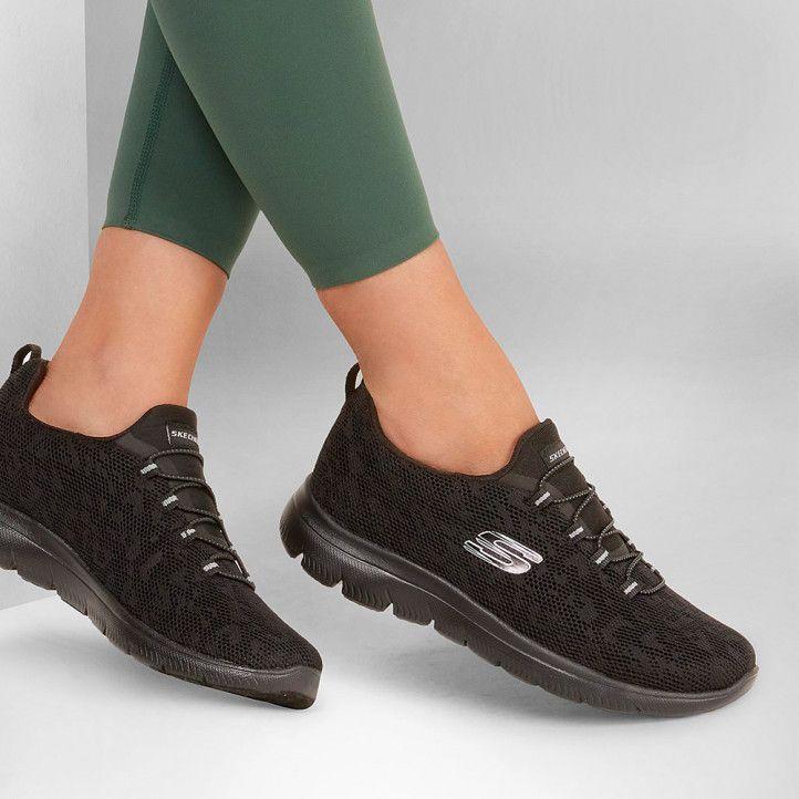 Zapatillas deportivas Skechers summits - leopard spot - Querol online