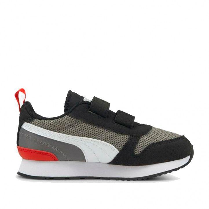 Zapatillas deporte Puma R78 gris tallas 28 a 34 - Querol online