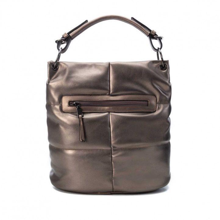 Bolso Xti 086538 alargado y con doble asa en bronce - Querol online