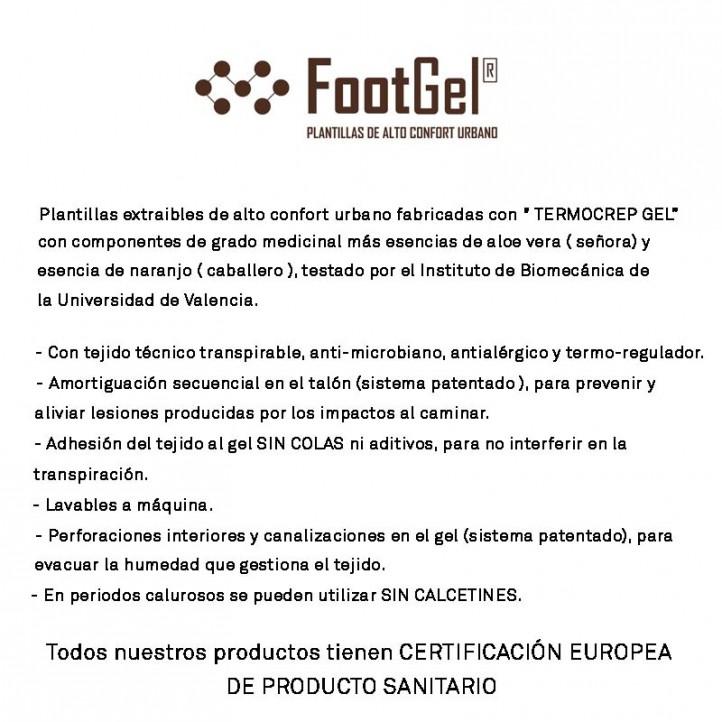 complements FootGel plantilles essència taronja - Querol online