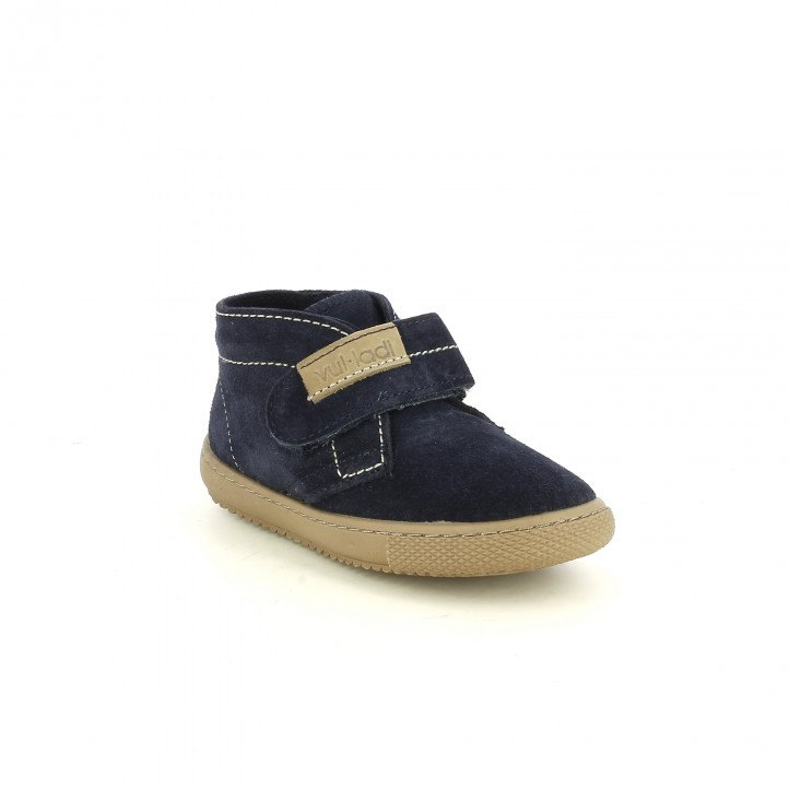 botins VUL·LADI blau marí de serratge - Querol online