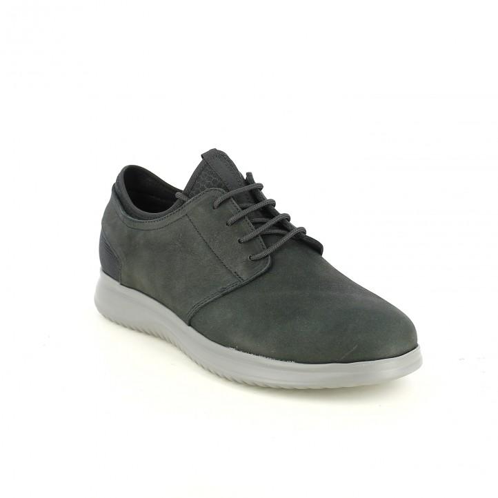 sabates sport LOBO negres amb plantilla encoixinada - Querol online