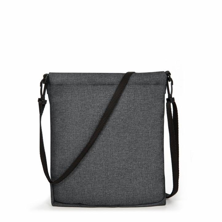 Complementos Eastpak bandolera gris oscuro con bolsillo - Querol online