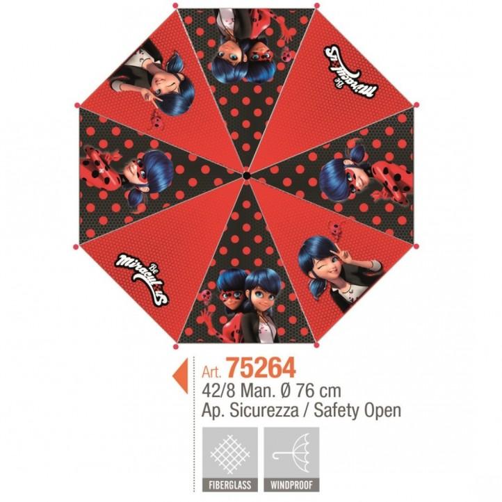 Complementos PERLETTI paraguas lady bug - Querol online