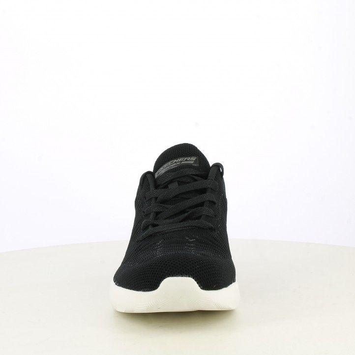 Sabatilles esportives Skechers negres amb detalls metàl-lics plantilles memory foam - Querol online