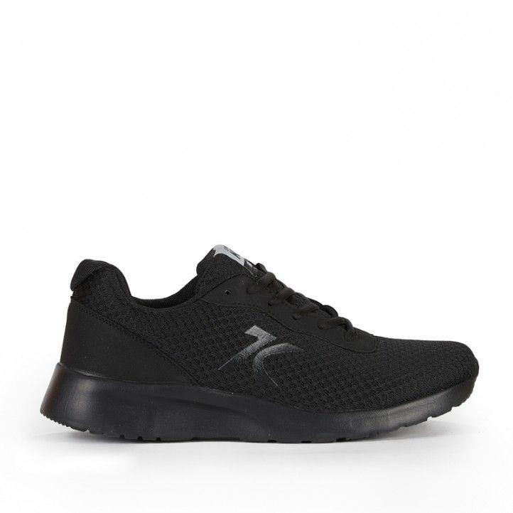 Zapatillas deportivas Sweden Klë negro con suela negra - Querol online