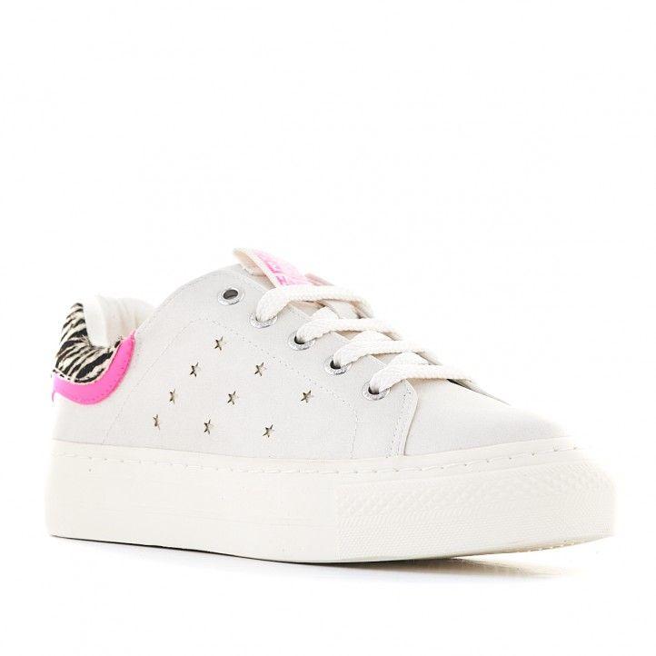 Zapatillas deporte Gioseppo con estrellas y detalles de cebra - Querol online
