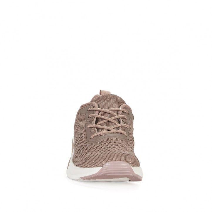 Zapatillas deportivas Owel de color rosa oscura - Querol online