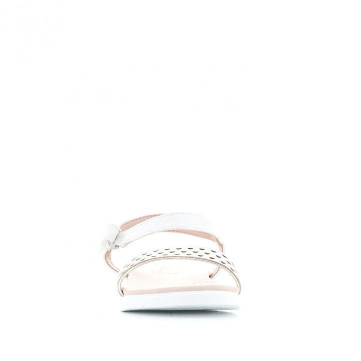 sandàlies K-TINNI amb banda davantera amb cors - Querol online
