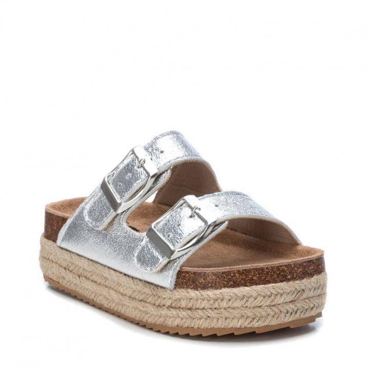 sandàlies XTI KIDS 057060 plata - Querol online