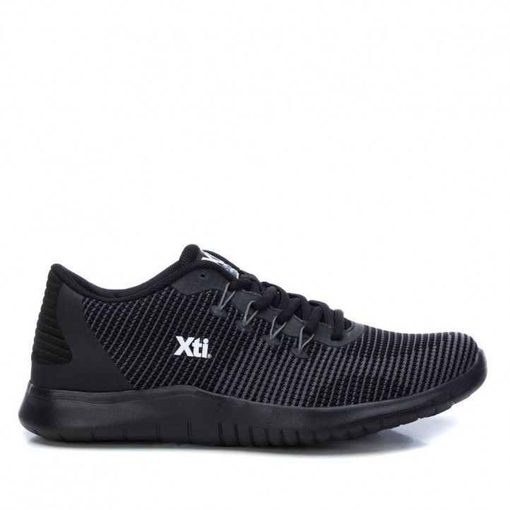Zapatillas deportivas Xti 043383 negras - Querol online