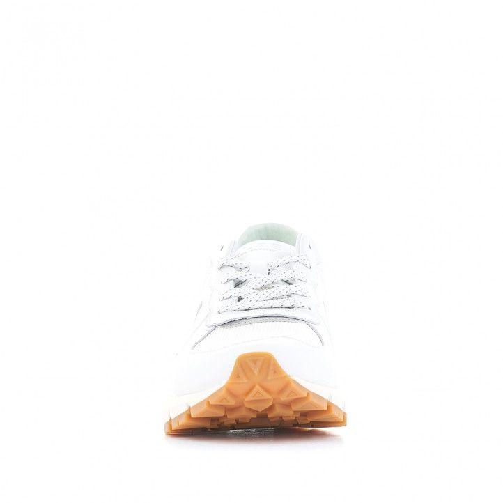 Sabatilles esportives CLAE blanques amb interior verd clar - Querol online