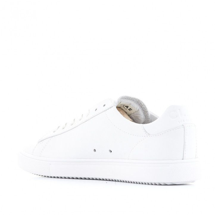 Zapatos sport CLAE blancas - Querol online
