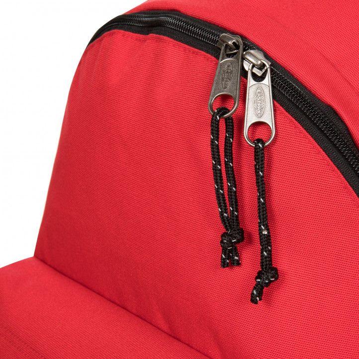 Motxilla Eastpak vermella amb tires negres - Querol online