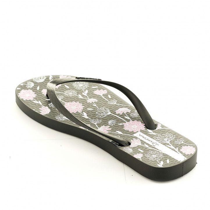 Xancles Ipanema negres amb detalls florals - Querol online