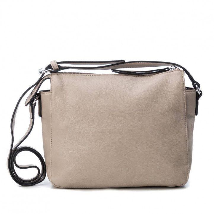 bolsos Refresh taupe con bolsillo delantero exterior - Querol online