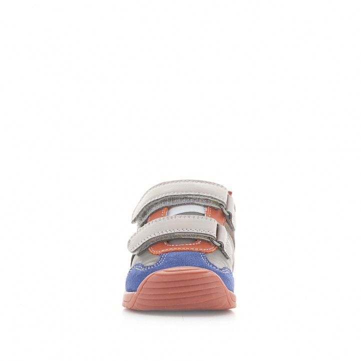 Botins Biomecanics de pell grises, blaves, taronges i vermelles - Querol online